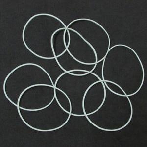Image 2 - ノベルティ500ピース/パック白いゴムバンド天然ゴムバンドホーム用品食品キッド髪パッケージオフィスsupplines