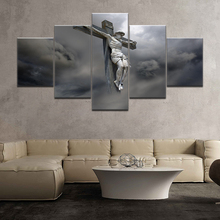 Printed Picture Modular Painting Modern Wall Art 5 Pieces Jesus Christ Was Crucified Living Room Home Decor Artwork Canvas graves kersey the world s sixteen crucified saviors or christianity before christ