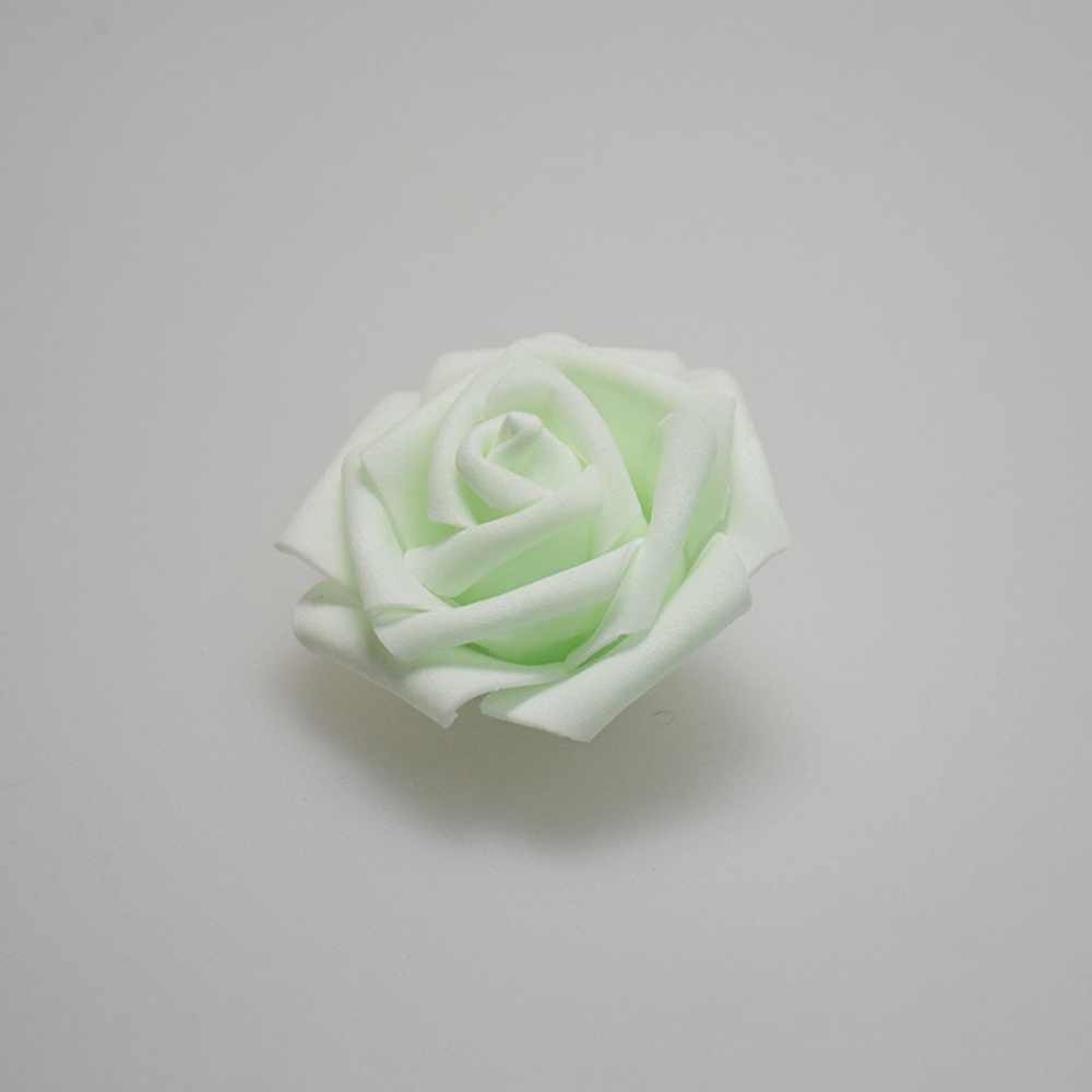 100 pcslot 6 cm foam rose heads artificial flower heads mint green 100 pcslot 6 cm foam rose heads artificial flower heads mint green tiffany blue flowers wedding decoration for kissing ball in artificial dried flowers izmirmasajfo
