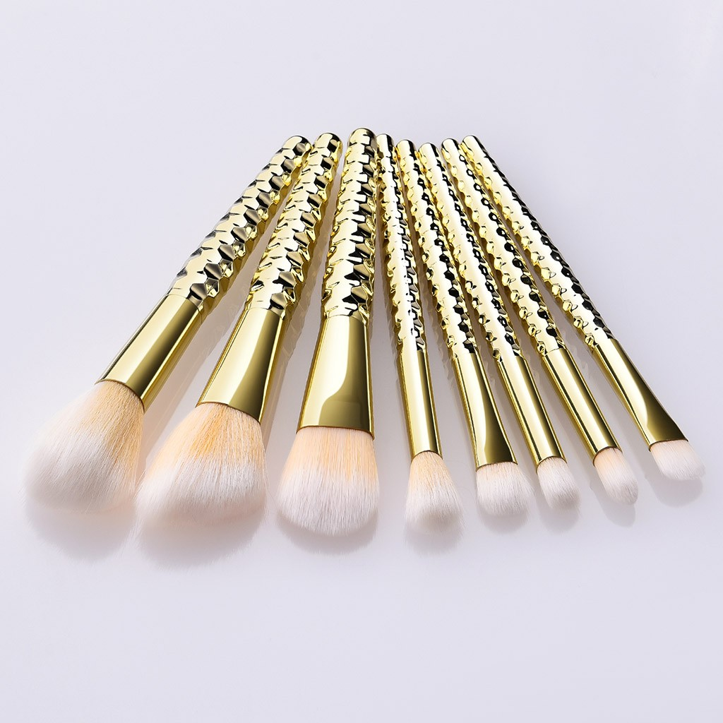 8 Pcs Makeup Brushes With A Honeycomb Eye Shadow Makeup Brush Set Beauty Tools Kit for Lip Eye Liner maquiagem    5.9DJL