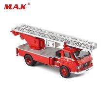 Детские игрушки 1/43 масштабные литые под давлением красные помпиры транспортные средства лестница модель пожарного грузовика для коллекции детские игрушки для мальчиков