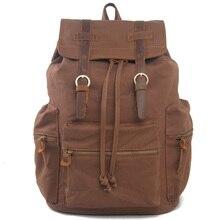 Европейские и Американские академический холст рюкзак школьный мужчины и женщины дорожная сумка компьютер рюкзак 1039