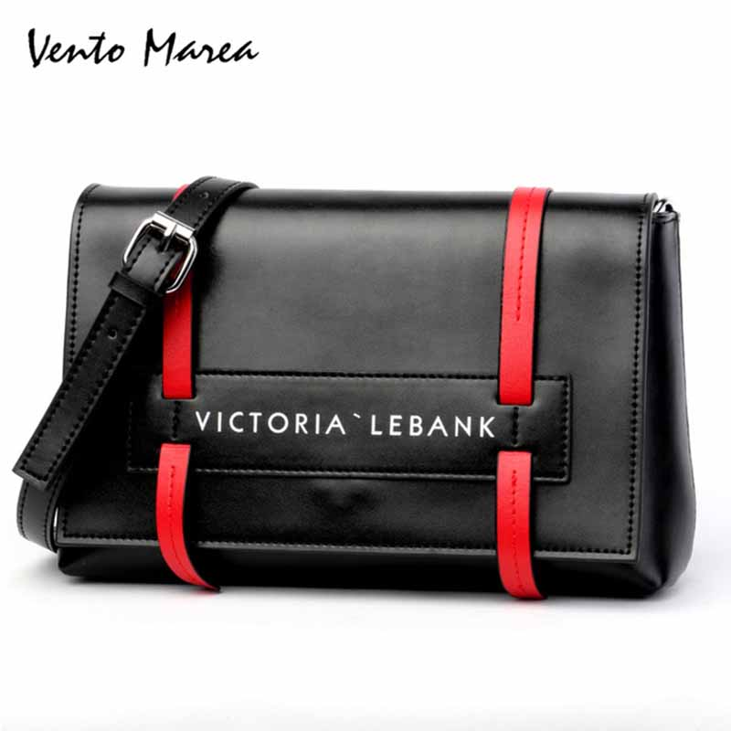 Original Vento Marea Soft Natural Leather Women Messenger Bag Zipper Red/Black Shoulder PursesOriginal Vento Marea Soft Natural Leather Women Messenger Bag Zipper Red/Black Shoulder Purses