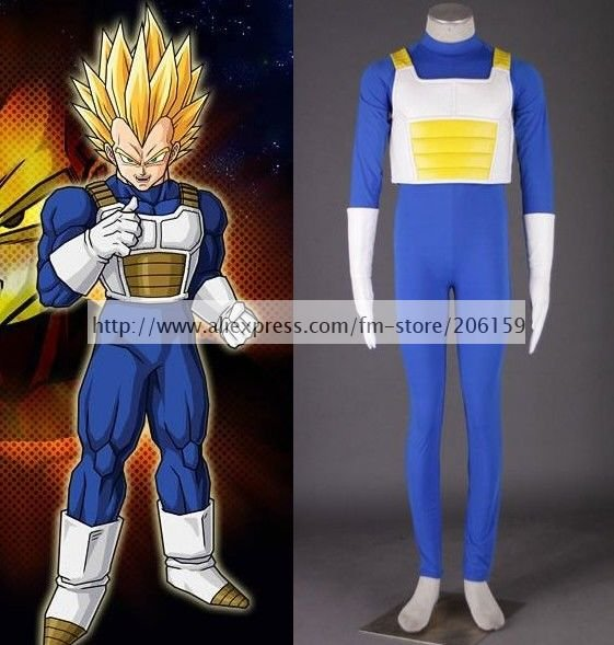 Halloween Costume -- Hight Quality Dragon Ball Vegeta 3rd Cosplay Costume for Halloween Party & ?Halloween Costume -- Hight Quality Dragon Ball Vegeta 3rd Cosplay ...