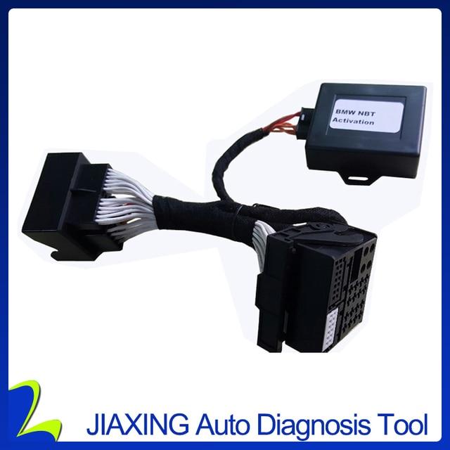 Para BMW ALL NBT/F2x F3x CIC adaptador de modificación emulador de vídeo en movimiento, navegación con interfaz Plug and Play/conector/Cable