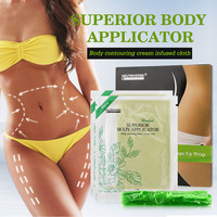 10 Pcs Pack Neutriherbs Slimming Pads Weight Loss Herbs Patch Detox Body Wraps Fat Burning Tone