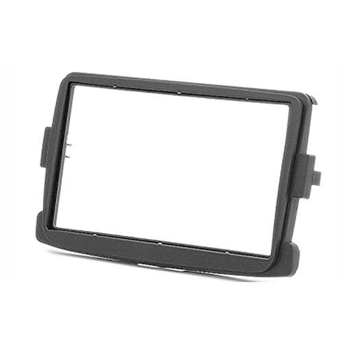 11-297 2 Din Car Radio Stereo Fascia Panel Frame DVD Dash Installation Kit for Renault Duster 2010+ Logan 2013+ Sandero 2012+