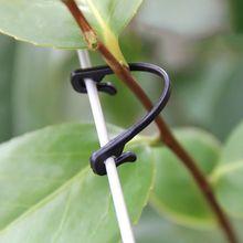 100 шт садовые растения с фиксированным крючком для крепления