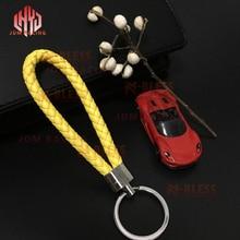 Keychain Key-Rings Car-Key-Holder Audi Honda Benz Hot for BMW Rope Hand-Woven Creative