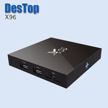 2pcs/lot with DHL free New model X96 S905X Android 6.0 TV Box Wifi A 4K*2K TV Marshmallow Media Player Set top box Quad core