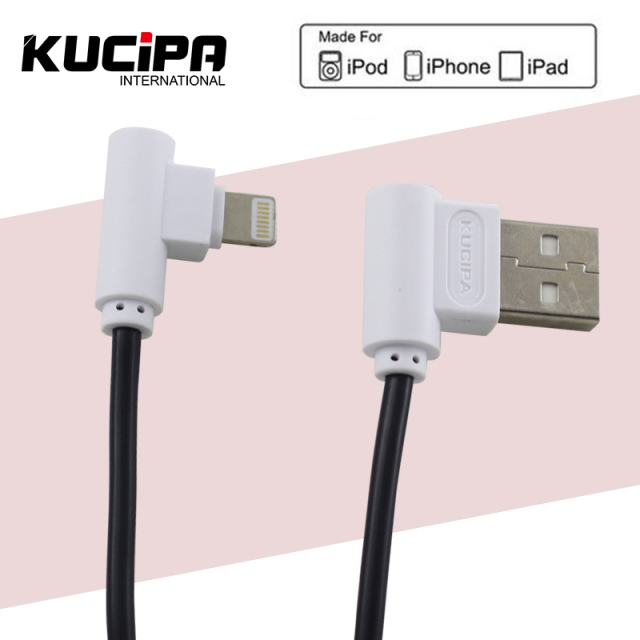 Ku Usb Cable Lightning Charging L Bending For Iphone 5 5s 6 6s 6plus 7 7plus
