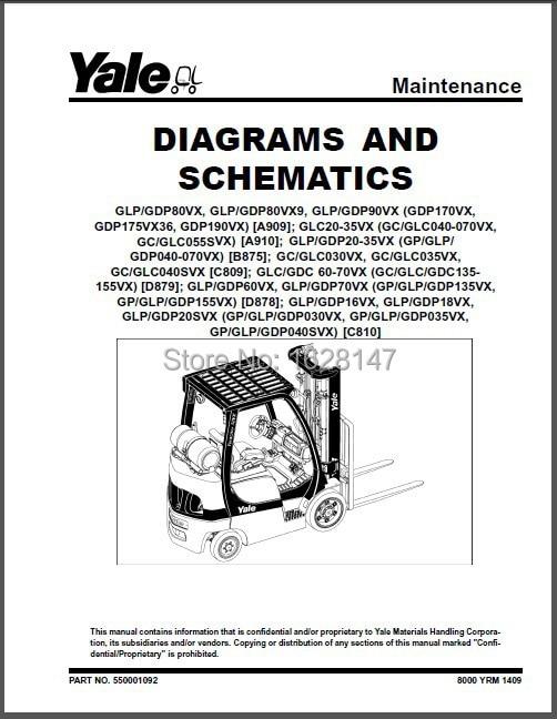 wiring yale diagram glc example electrical wiring diagram u2022 rh cranejapan co Yale Forklift Lights Yale GLC050