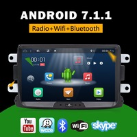 Bosion 8 inch GPS Navigator Radio Android 7.1.1 Voor RENAULT DUSTER 2010-2017 2G RAM 16G ROM Full Touch Capacitieve Scherm