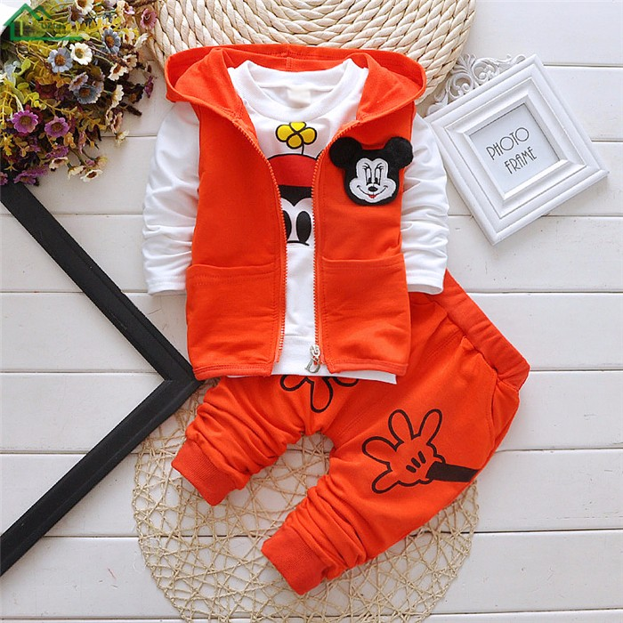 mickey mouse kids boys clothes set22