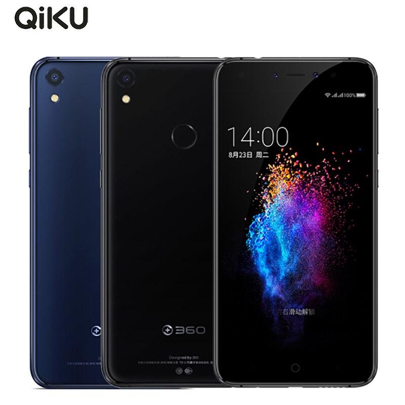 Original Qiku 360 N5s Cell Phone 5.5 inch 6GB RAM 128GB ROM Snapdragon 653 Octa Core Dual Front Camera 3730mAh 4G LTE Smartphone