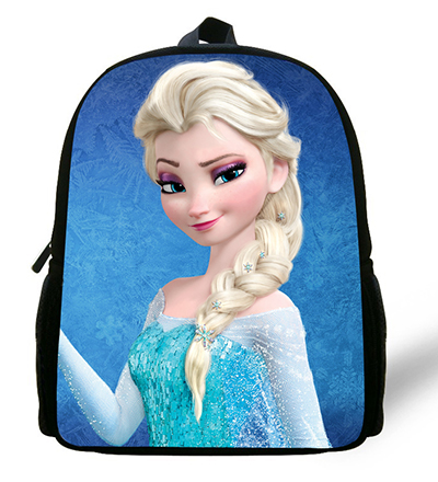 Newest Comfortable Children Cartoon Bag Snow And Ice Princess Backpack Kids Boys Infantil Mini School Bags For Girls