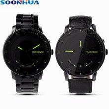 SOONHUA Fashion Business Smart Watch Sports Tracker Waterproof Smart Bracelet Pedometer Calorie Alarm Clock Fitness Wristband