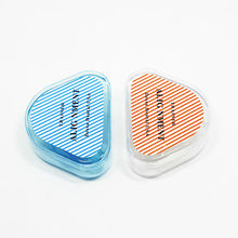 2pcs Blue+Clear Dental Tooth Orthodontic Appliance Trainer Alignment Braces Mouthpieces For Teeth Straight/Alignment