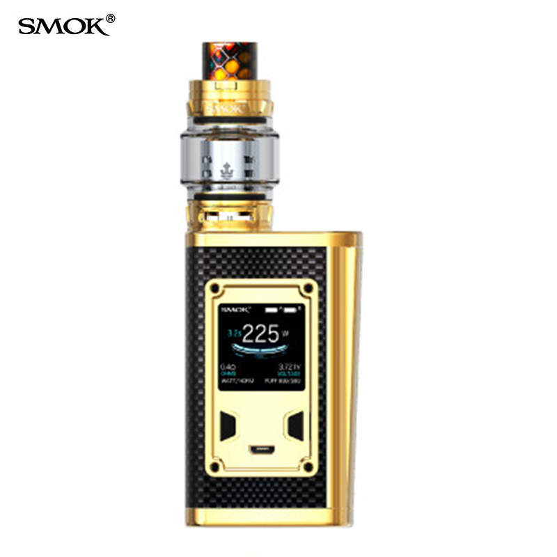 SMOK Vape Majesté Kit Luxe Édition Kit elektronik sigara boîte mod vaporisateur avec prince réservoir cigarette électronique vaper S3017