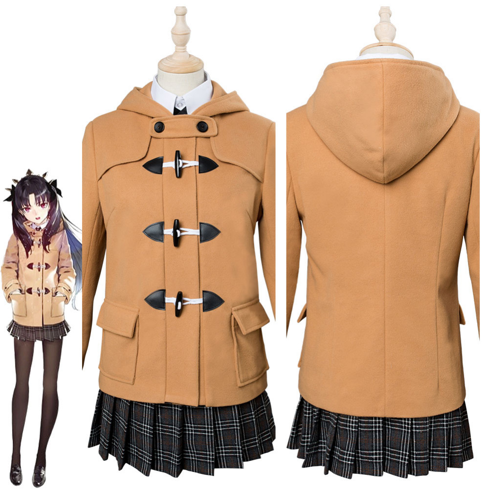 Fate Grand Order Ishtar Cosplay Costume FGO Daily Winter Wear Outfit Halloween Carnival Costumes Custom Made