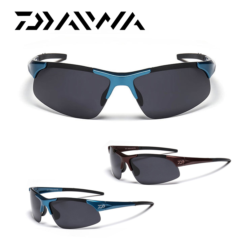Daiwa deportes al aire libre pesca gafas de sol hombres pesca gafas - Pescando