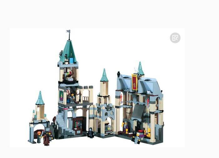LEPIN 16030 1340pcs Hogwarts Castle School Building Blocks Kit Set Building Blocks Bricks Toys Fit For 4842 lepin 16030 1340pcs movie series hogwarts city model building blocks bricks toys for children pirate caribbean gift