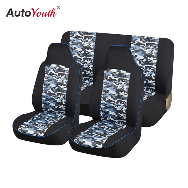 Automobiles Seat Covers Bucket Seats Universal Fit Car Accessories Fashion Camouflage Car Seat Covers Car-Styling AUTOYOUTH
