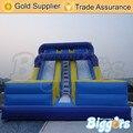 Высокое Качество Открытый Синий Надувные Игры Прыжки Замок Горки Для Продажи