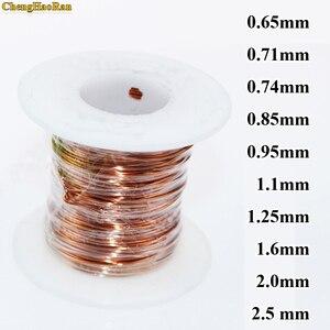 Image 1 - ChengHaoRan 0.65 0.71 0.74 0.85 0.95 1.1 1.25 1.6 2.0 2.5 มิลลิเมตร 1 เมตรลวดทองแดงเคลือบซ่อม QA 1 130 QZY 2 180 QA 1 155 2UEW