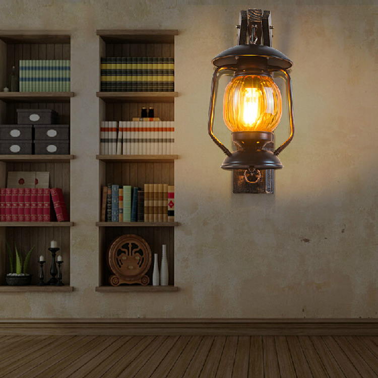 Wooden antique lantern american country european retro living room wooden antique lantern american country european retro living room bedroom den industrial wall lamp outdoor lights in pendant lights from lights lighting audiocablefo