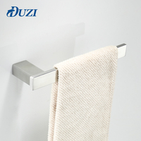 DUZI 30CM Single Towel Bar Towel Holder 304 Stainless Steel Made Mirror Polished Bathroom Hardware Bathroom