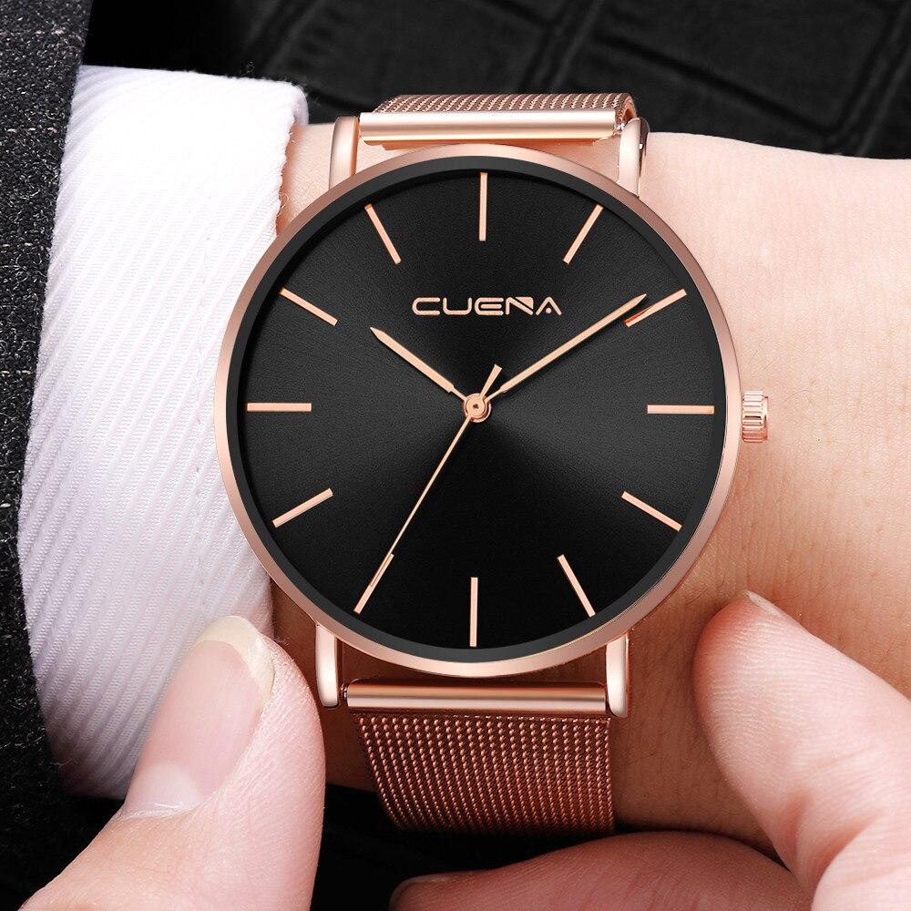 Man Watch Luxury Quartz Stainless Steel Dial Casual Bracelet Watch Man watches mens 2019 men wristwatch clock relogio masculino