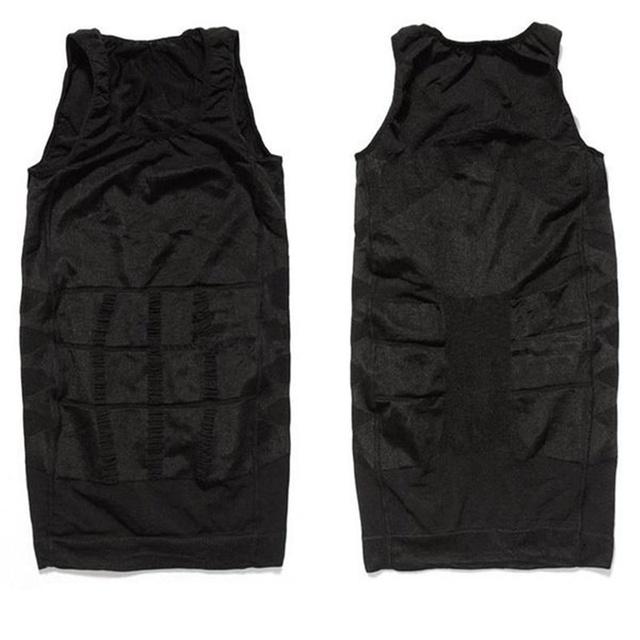 Men Tight Body Shapewear sleeveless Undershirt
