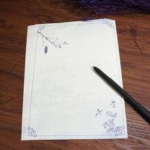 1 шт. возраст квадратный древнекитайский стиль винтажные канцелярские принадлежности синий и белый