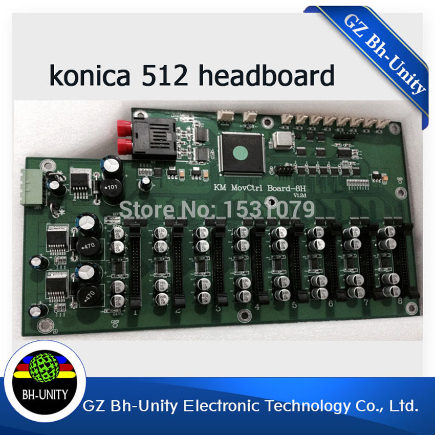 Brand new solvent printer parts head board konica 512 head board for eco solvent print head cheap price konica 512 mother board main board for konica printer spare parts