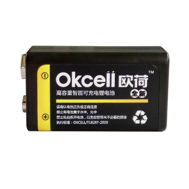 JRGK 800 mAh micro USB Sạc OKcell Lipo Pin 9 V Pin cho RC Trực Thăng Mô Hình Microphone Cho RC Máy Bay Trực Thăng phần