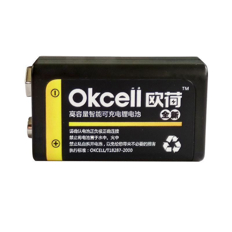 JRGK 800mAh micro USB Rechargeable OKcell Lipo Battery 9V Battery for RC Helicopter Model Microphone For RC Helicopter Part znter 1 5v 4000mah battery micro usb rechargeable batteries d lipo lr20 battery for rc camera drone accessories