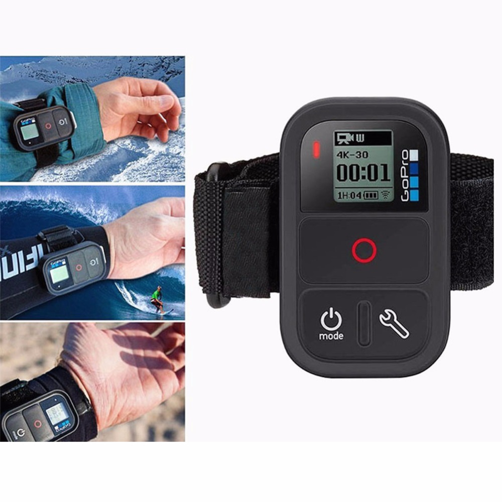 Remote control wrist band for gopro hero 4s for GoPro three Way stick