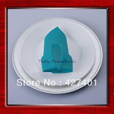 High Quality 50x50cm Jade Polyester Plain Napkin / Table Napkin / Hotel Napkin / Dinner Napkin (Factory Direct Sale)
