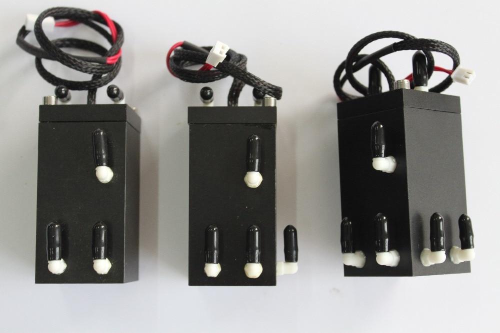 100% new and original 55ml aluminium sub tank JH-M-1-12/55ml 1x 3-hole aluminum cartridges with float 100% new and original for seiko and konica sub tank cartridges with sensor uv