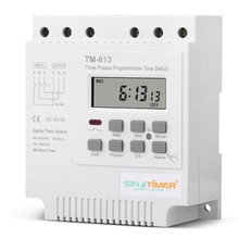One Lot of 3 PCS Three Phases 380V 415V TIMER Programmable Switch, Time Relay, Sinotimer Brand