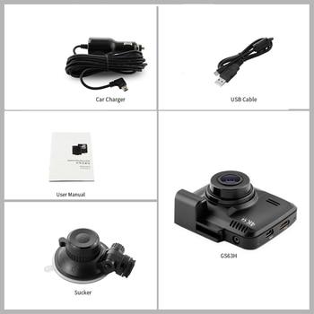 Bluavido 4 Karat 2160 P UHD Dash Cam DVR GPS Tracker WDR Nachtsicht IMX323 Novatek 96660 Auto Kamera Video Recorder WiFi 150 Grad