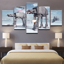 Artwork Poster Canvas Painting 5 Pieces Star Wars HD Prints Game Home Decoration Wall Movie Art For Living Room Modular Pictures