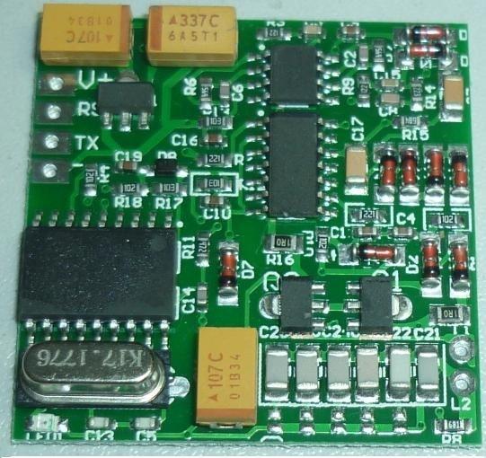 ФОТО 134.2K Animal Tag Reader Module TTL Output AGV RFID FX-B ISO11784 Long distance