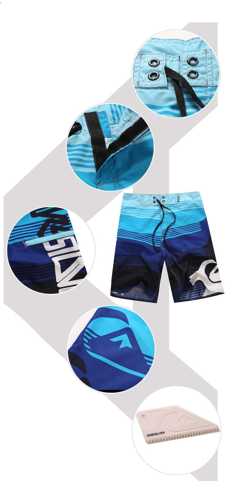 calças esportes listras azuis céu homens lazer calções quick dry plus size