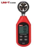 UNI-T UT363 Digitale Anemometer Windsnelheid 0-30 m/s Luchtstroom Tester-10 ~ 50C/144 ~ 122 F Thermometer