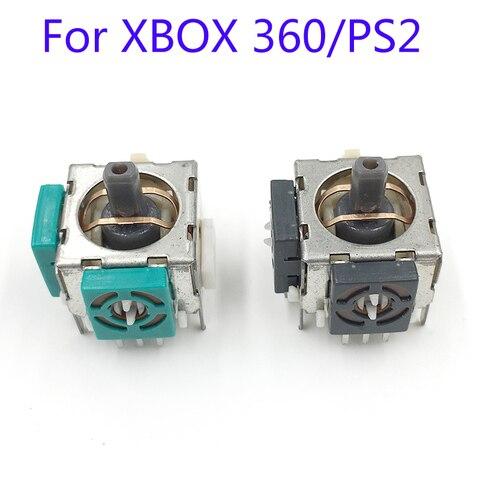 Pces para Microsoft para Xbox Peças de Reparo 360 para Ps2 Controlador Joystick Substituição Analógico Sensor 100 3d