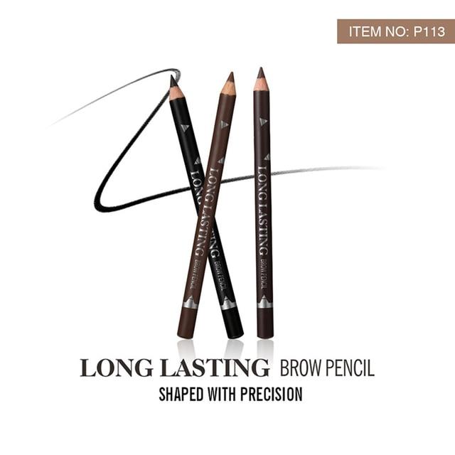 2019 New Hot Sale 12pcs Waterproof Eye Brow Pencil Black Brown Eyebrow Pen Long Lasting Makeup Drop Shipping 3
