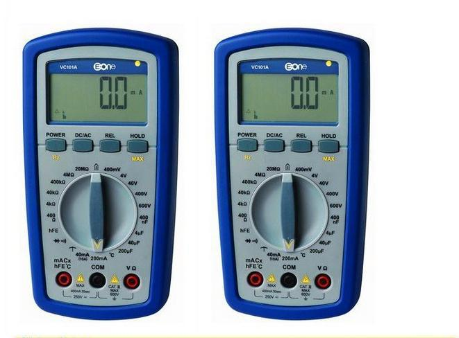 100% Digital Multimeter All Ranges Protection Self-Restoring  waterproof and dustproof drop resistance multimeter VC101  цены