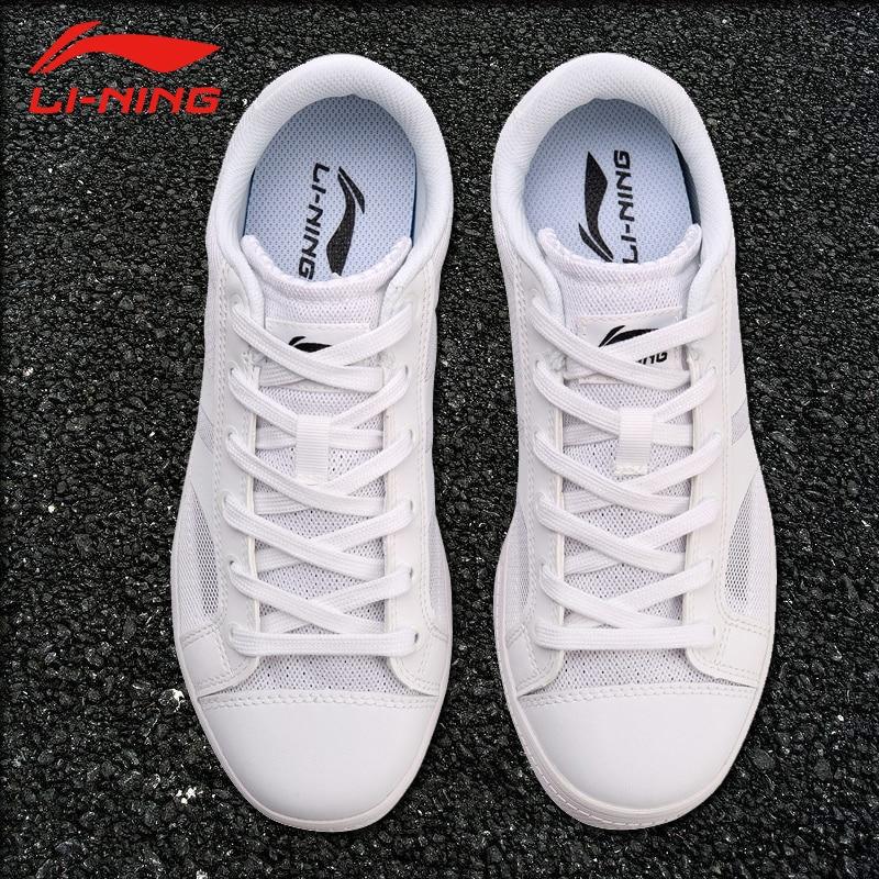 Li-Ning Women LN SET POINT Leisure Walking Shoes Mesh Breathable Cushion LiNing Comfort Sports Shoes Sneakers AGCN148 SAMJ18
